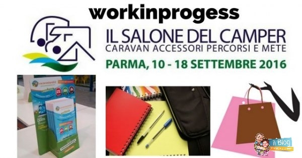 Workinprogress Salone del Camper – stand, scuola e shopping